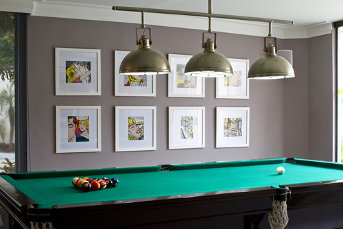 Lighting installation for your pool table prolux electrical contemporary pool table lights greentooth Choice Image
