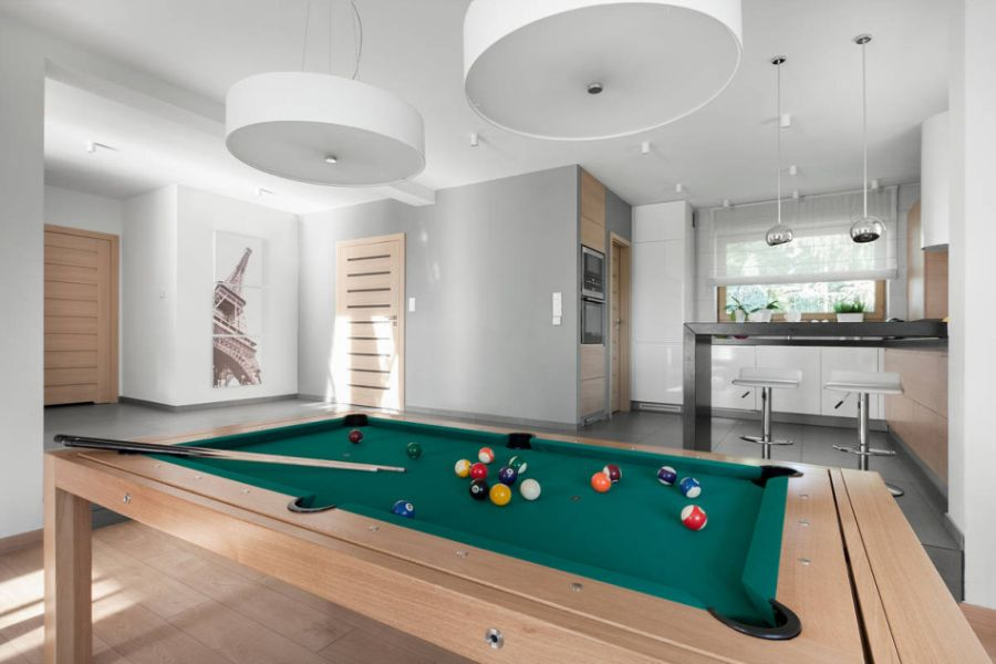 Lighting installation for your pool table prolux electrical lighting installation for your pool table greentooth Images