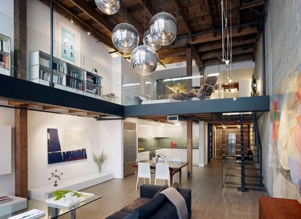 Industrial Lighting for Loft Apartment