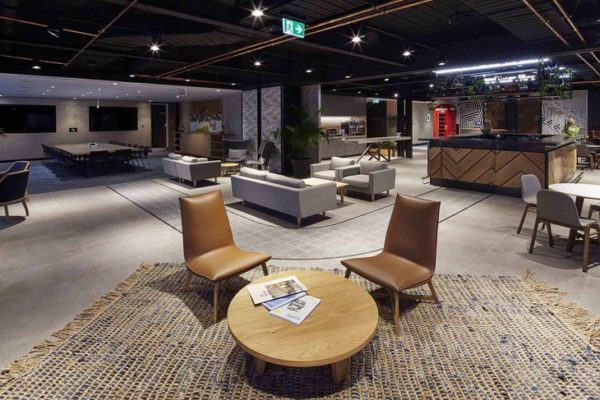Dexus_Place_Melbourne_Fit-out_Electrical_Prolux_Downlight_Installation
